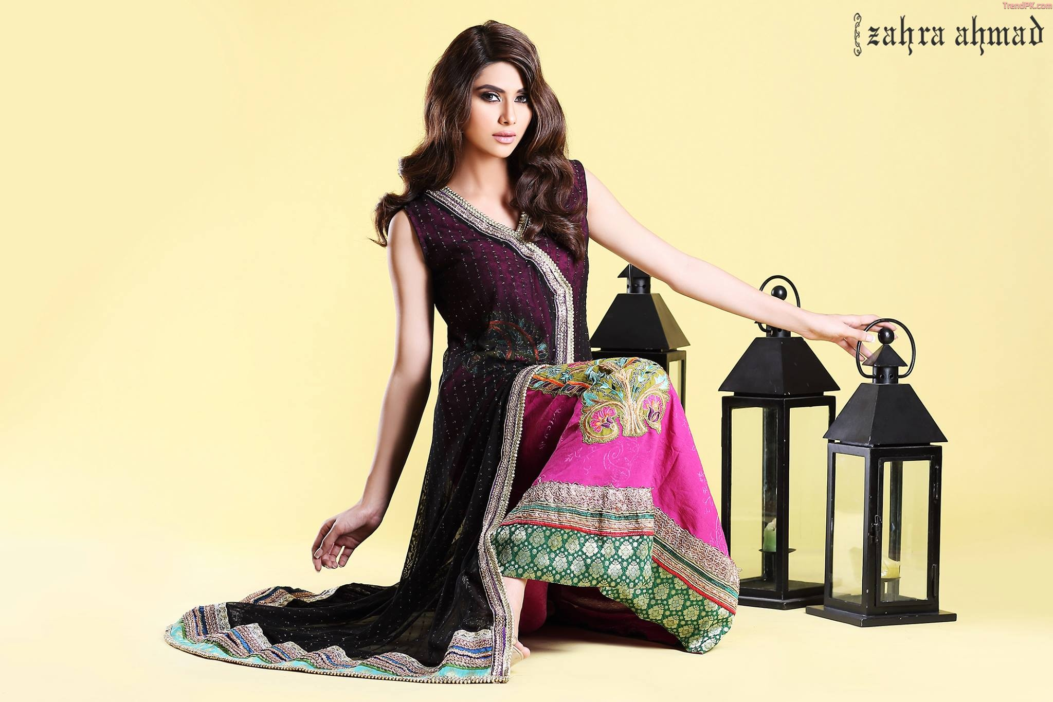 Zahra Ahmad Winter Festive Collection 2013-14 - Fall Collections d5a8a9465c74c