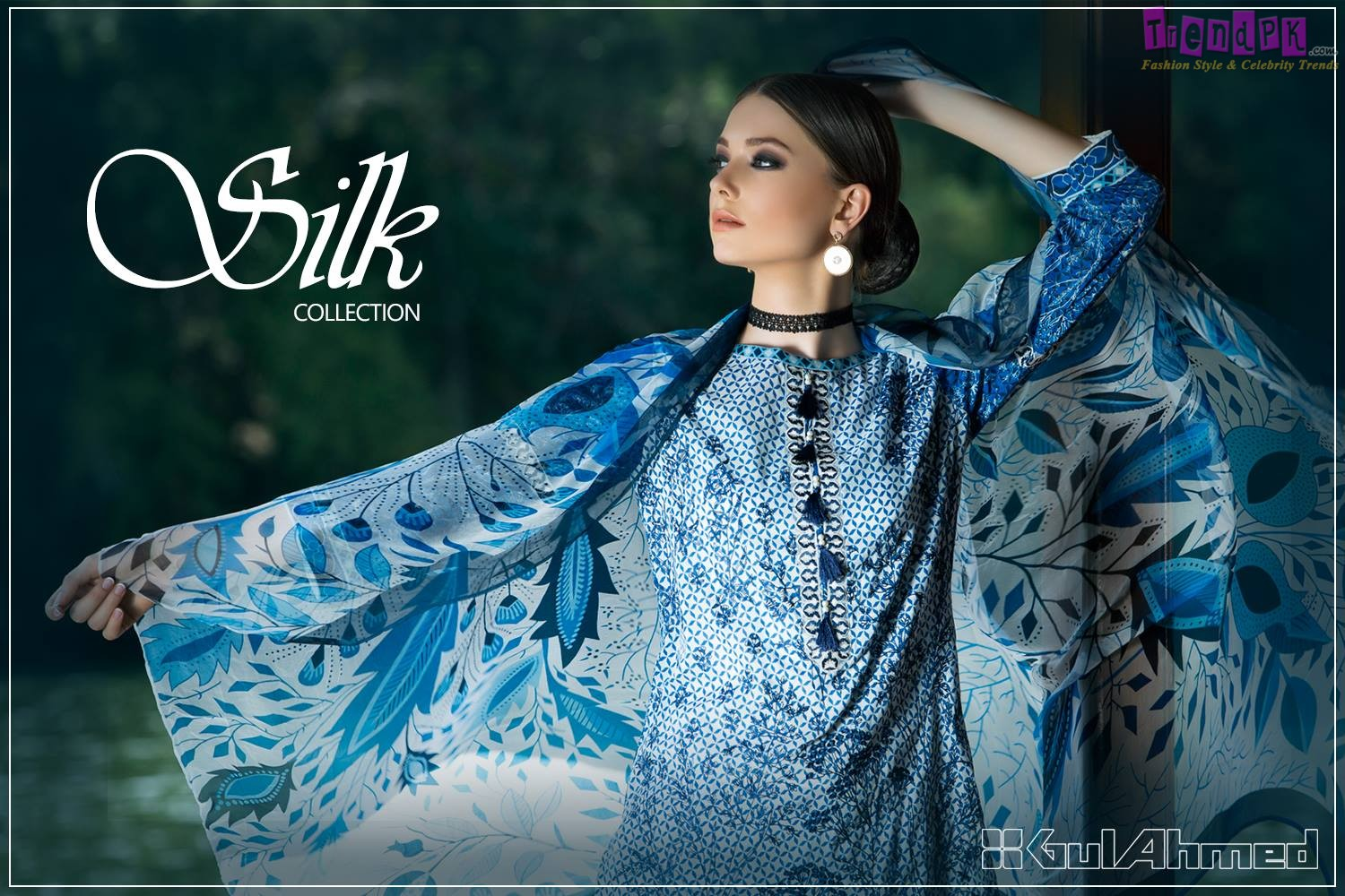 Gul Ahmed Silk Collection 2017   Spring Collections
