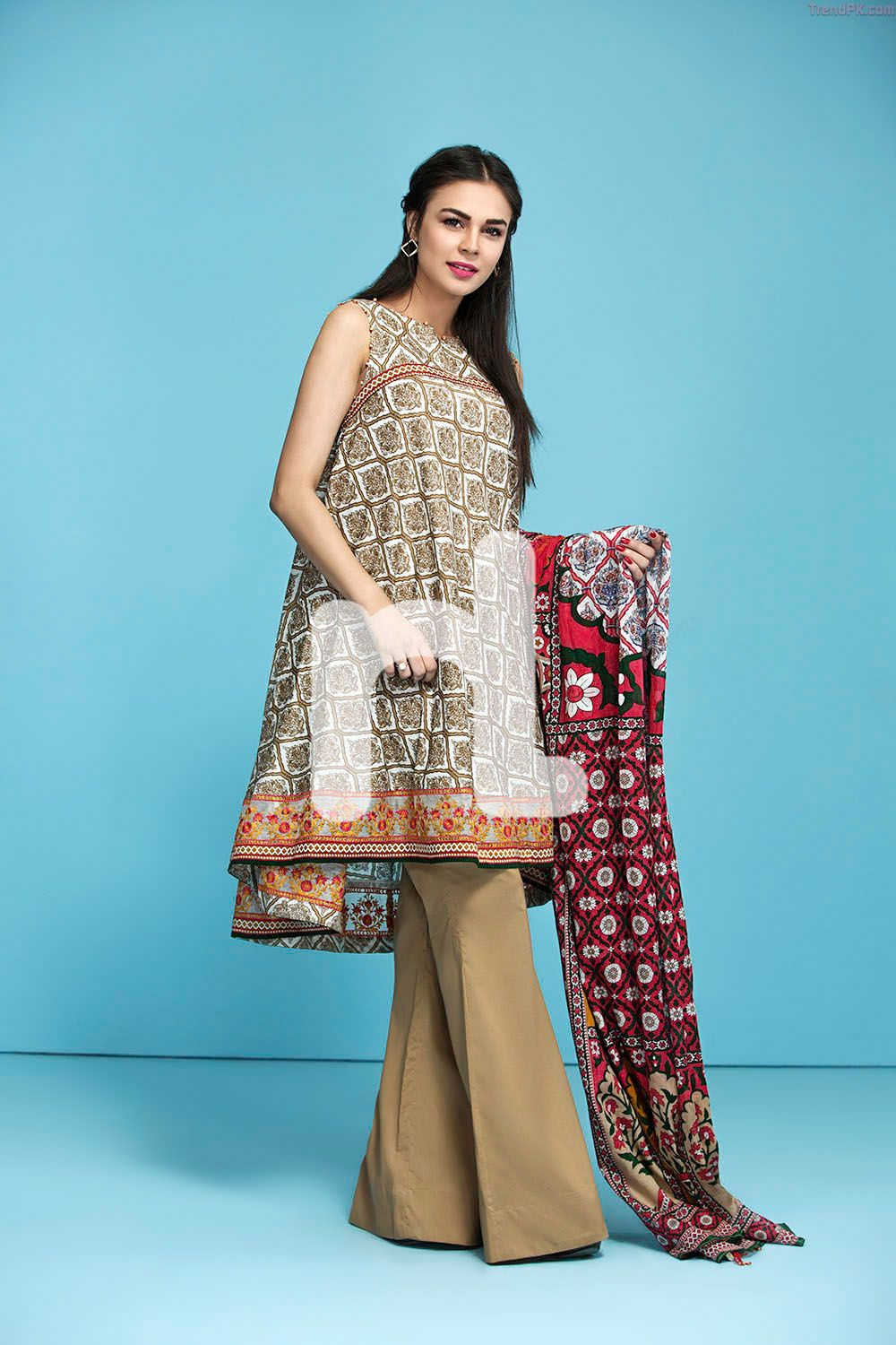 1b3d763080 3 Piece Embroidered Lawn 6 - Fashion Trends of Pakistan - TrendPK.com