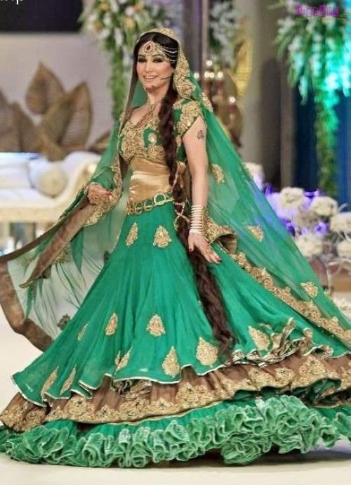 Pakistani Designer Bridal Lehenga Dresses 2017 2 Fashion Trends Of Pakistan