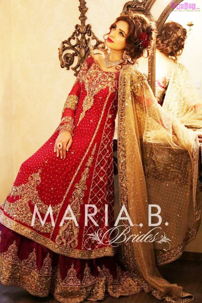 Maria B Formal Bridal Collection Dress For Girls Fashion Trends Of