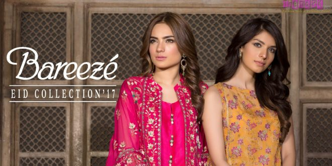 c816a324aa5 Bareeze Eid Collection 2017 - Eid Collections