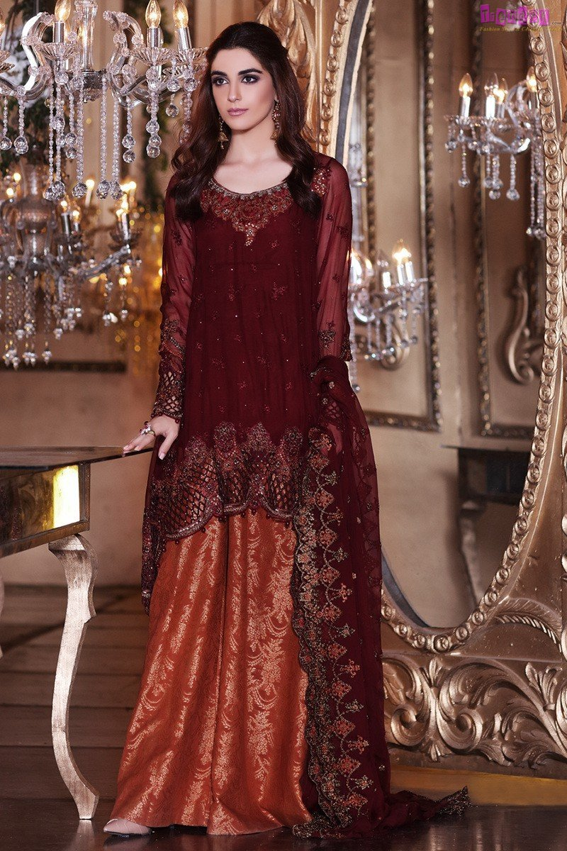 25093d378d MARIA B MBroidered Collection bd-1003 - Fashion Trends of Pakistan ...