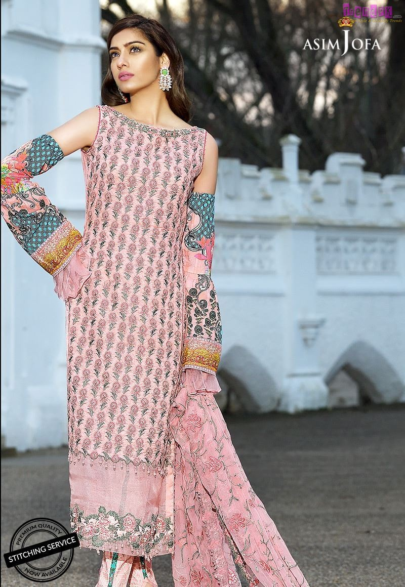 hot products shoes for cheap discount shop Asim Jofa Luxury Lawn Collection 2018 (9) - Fashion Trends of ...